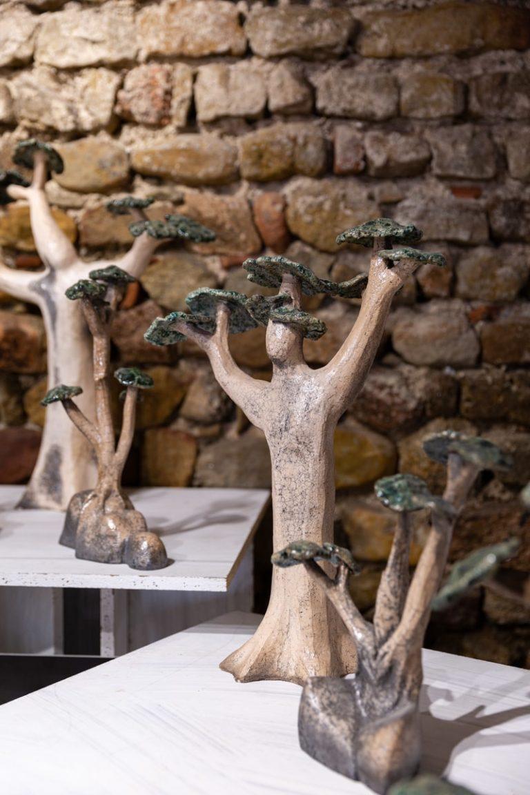 céramiste d'art arbre