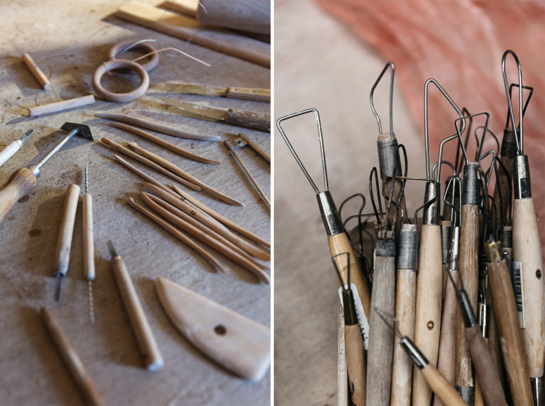 outils céramique