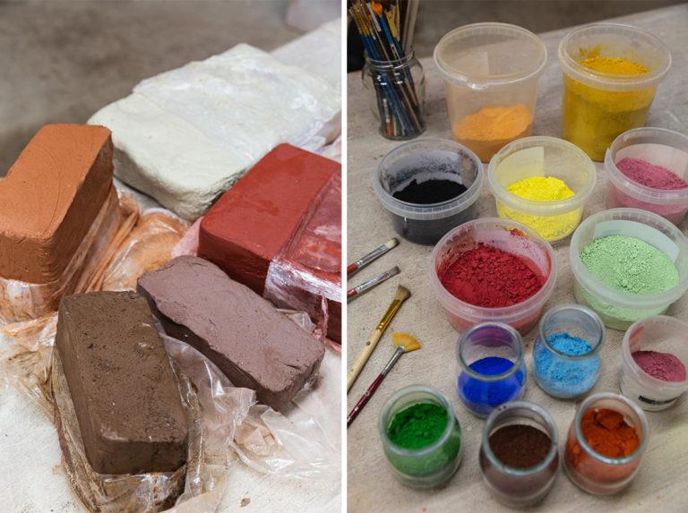terre et pigments