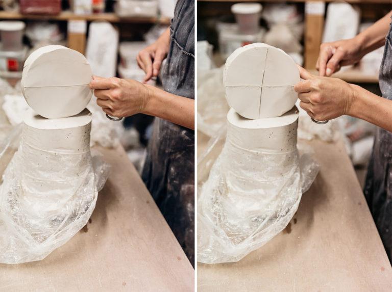 céramiste d'art porcelaine