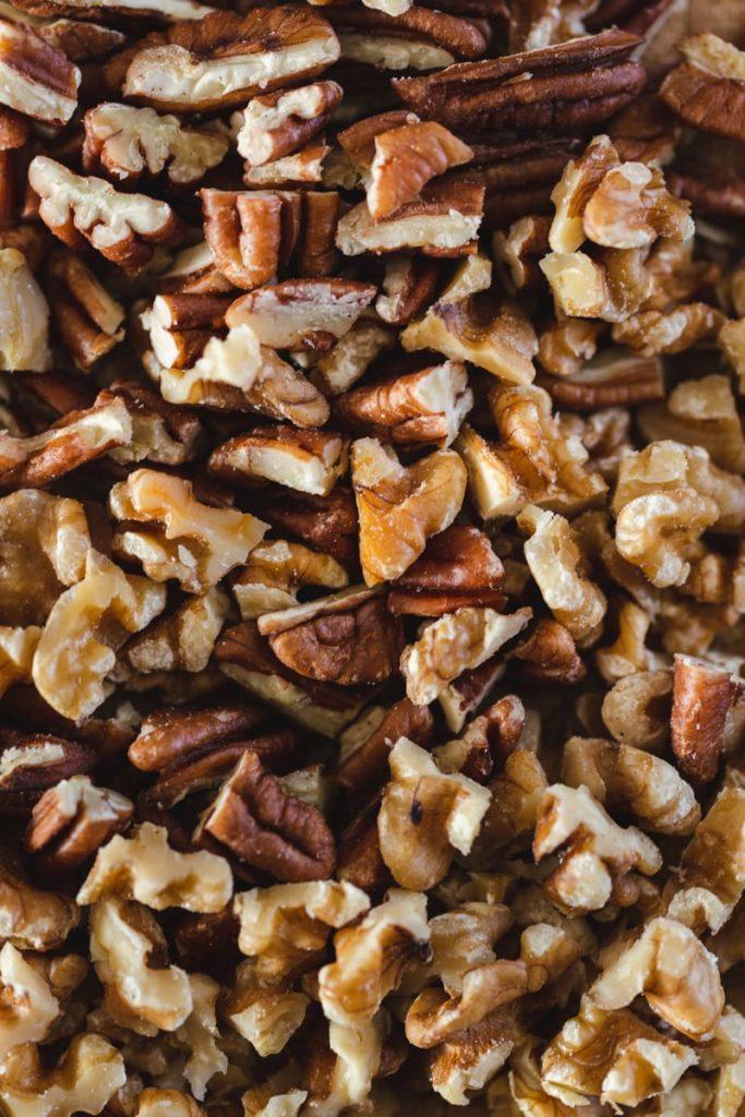 Noix de Grenoble et noix de pécan