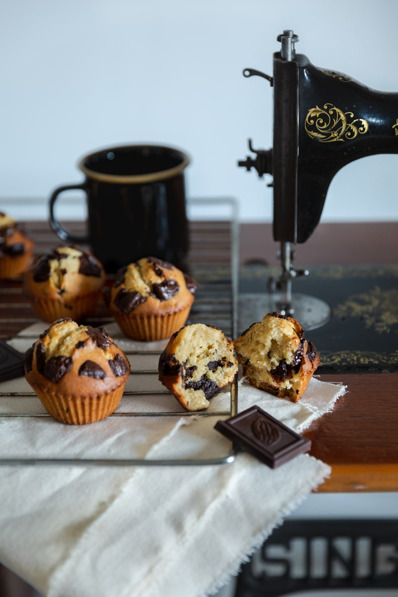Photographie culinaire muffins chocolat